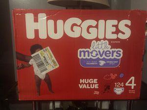 Huggies little movers size#4!! for Sale in Jonesboro, GA