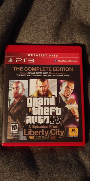 Grand Theft Auto IV Complete PS3 Game for Sale in Jacksonville, FL