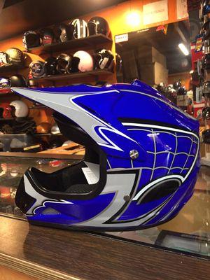 New youth kids dot off road dirt bike motorcycle helmet $75 for Sale in Santa Fe Springs, CA