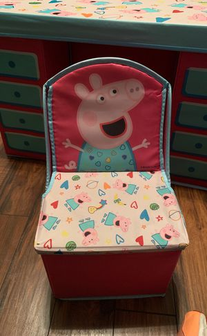 Pepper Pig Desk set with storage (NEW) for Sale in Conyers, GA