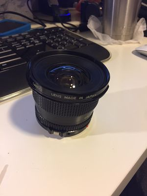 Canon Fd 17mm f4 *PLEASE READ* for Sale in Austin, TX