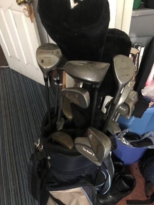 Golf club set of 17 clubs differ in size for Sale in Baltimore, MD