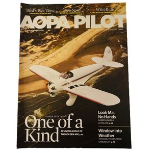 AOPA Pilot Magazine: The Voice of General Aviation - January 2020 Edition - Volume 63 for Sale in Charlottesville, VA