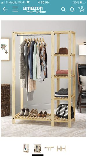 Clothing rack / shelving for Sale in Los Angeles, CA
