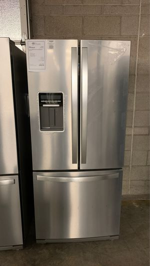 """New Whirlpool Stainless Steel 30"""" French Door Refrigerator! for Sale in Chandler, AZ"""