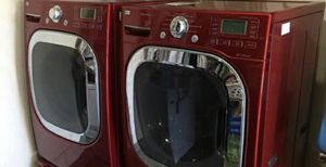 LG Washer and Dryer Gas Steamer Front Load Working Great for Sale in Diamond Bar, CA