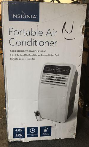 Insignia 8000 btu portable air conditioner ac unit for Sale in Houston, TX