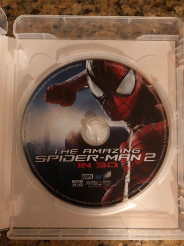 Amazing Spider-Man 2 3D Blu-ray $5