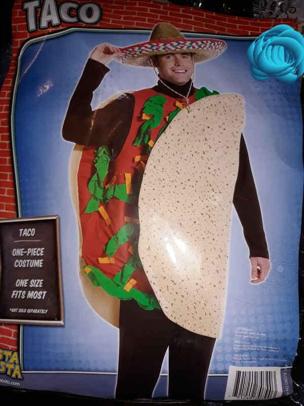 Halloween Costume Unisex New Mexican Taco One Size Fits
