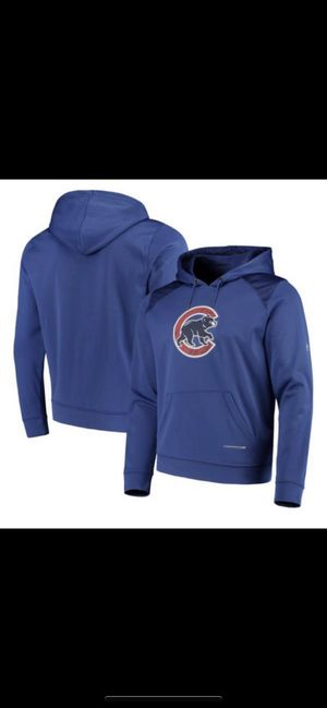 Men's Chicago Cubs Majestic Royal Armour Poly Fleece Pullover Hoodie LARGE for Sale in Chicago Ridge, IL