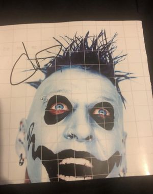 Mudvayne- Chad Gray Autographed for Sale in Albuquerque, NM