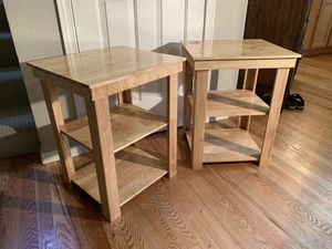 Solid Wood Side Tables for Sale in Sammamish, WA