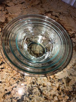 Pyrex 3 Piece Mixing Bowl Set (2 Sets, 6 Bowls Total) for Sale in Tamarac, FL