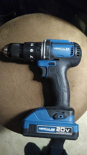 Hercules 20 volt screw gun for Sale in CA, US