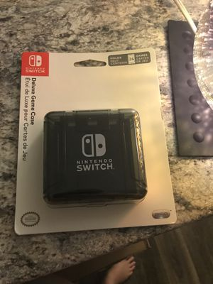 Brand new Nintendo switch case holds 24 games brand new never opened for Sale in Tampa, FL