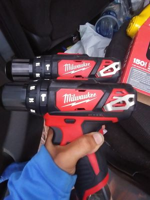 2 - Milwaukee 3/8 driver drill (no battery) for Sale in San Diego, CA