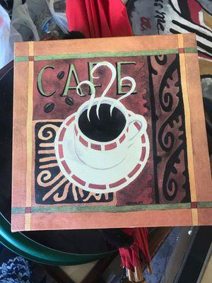 $2 cafe artwork home decor for Sale in Las Vegas, NV