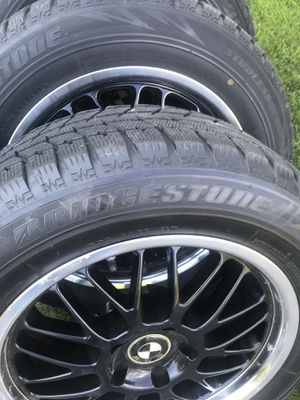 Bridgestone winter tires and BMW wheels and rims for Sale in Berlin, CT