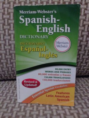 SPANISH- ENGLISH DICTIONARY- MERRIAM- WEBSTER'S. BRAND NEW!!! for Sale in Tamarac, FL