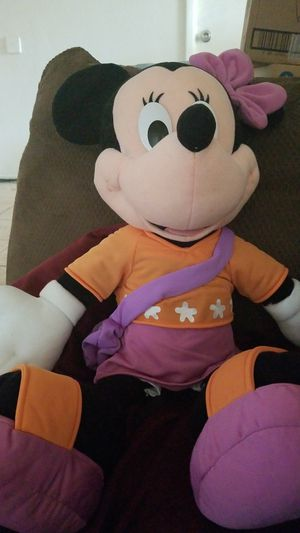 Disney Minnie Mouse 25 inch jumbo plush toy, sandal purse 2000 rare for Sale in Phoenix, AZ
