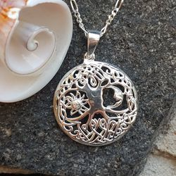 NEW Sun Moon Tree Of Life Necklace - Shipping Only for Sale in Pompano Beach,  FL