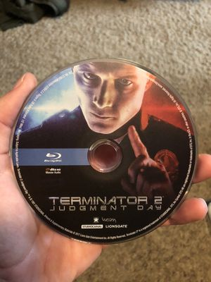 Terminator 2 judgement day Blu-ray for Sale in Lodi, CA