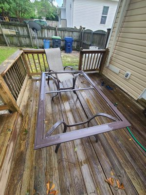 Patio tables with chairs for Sale in West Columbia, SC