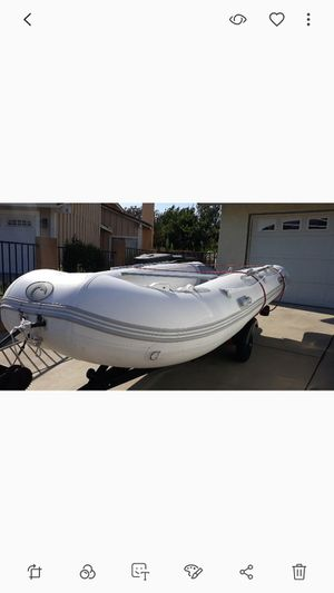 14 ' inflatable boat with warranty for Sale in Chino Hills, CA