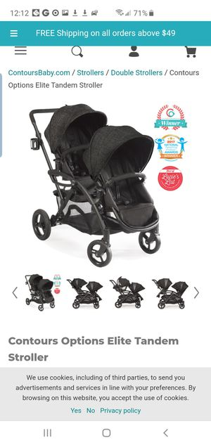 Contours Double Strollers- Price Cut for Sale in Denver, CO