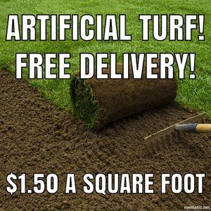 Grass farming lawn artificial turf garden for Sale in Poway, CA