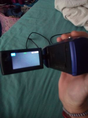 Sony HD cam and camera with memory card and cords for Sale in Zephyrhills, FL