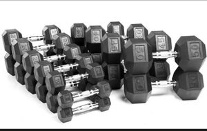 Dumbell Pairs in different sizes for Sale in Glenarden, MD