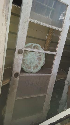 ANTIQUE GLASS WOOD DOOR DIY DOOR for Sale in Yuma, AZ