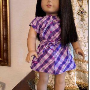 AMERICAN GIRL DOLL JLY -FAIR- DARK BROWN HAIR- BROWN EYES for Sale in Miami, FL