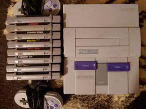 Super Nintendo NES and 8 games for Sale in Marbury, AL