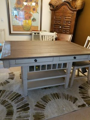 Dinner table with wine rack for Sale in Crofton, MD