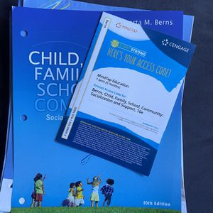 CHLD Child Family School Community Text Book With Code For Online for Sale in Chino, CA
