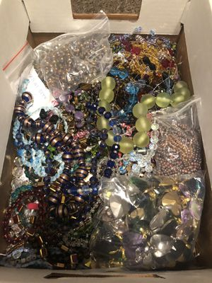Boxes of new crystal beads available for sale! for Sale in Los Angeles, CA