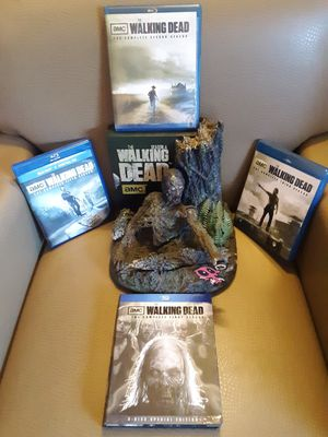 Five seasons of the walking dead series for Sale in Greenwood, IN