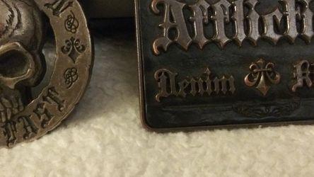 Vintage AFFLICTION Belt Buckles for Sale in Renton,  WA