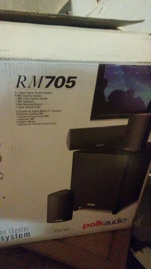 Brand new Polk audio 5.1. Theater system $160 for Sale in The Bronx, NY