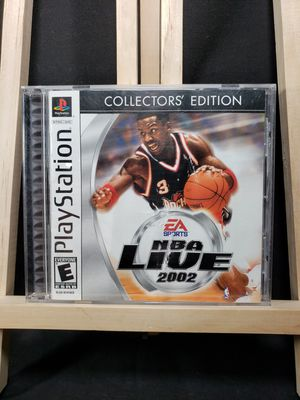 Playstation 1 2002 NBA live collectors edition for Sale in Zanesville, OH