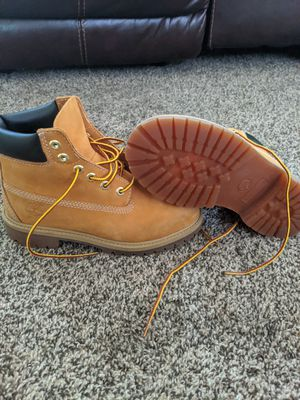 Timberland boots size 2 for Sale in Racine, WI
