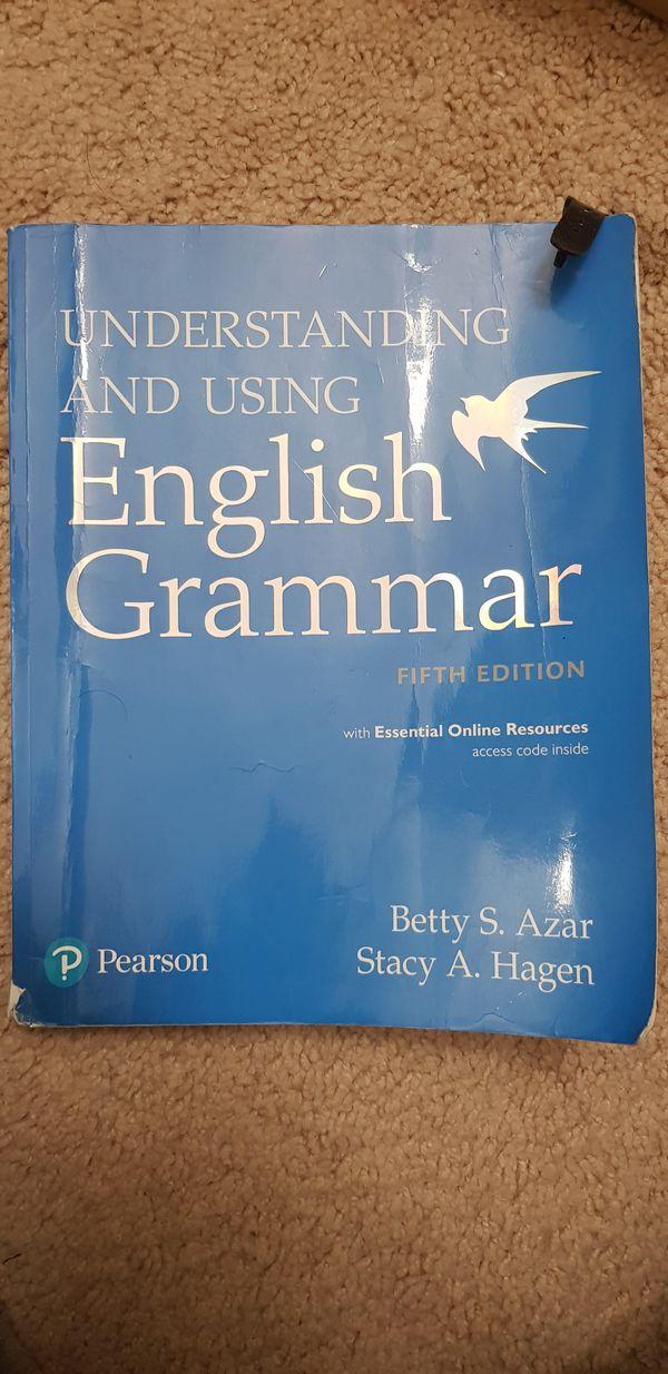 Understanding and Using English grammar.