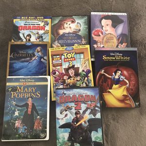 8 DVDs Variety Of Movies No Delivery Pick Up Only for Sale in Santa Ana, CA