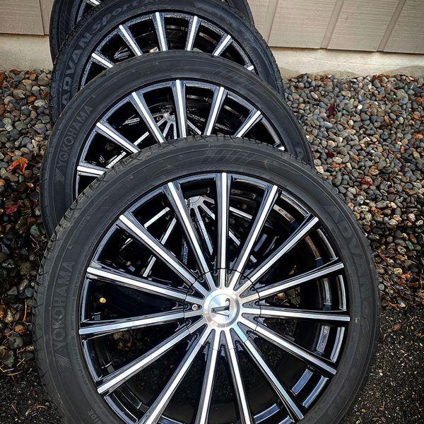 """20"""" Velocity Rims & Tires"""