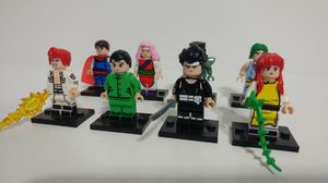 Yu Yu Hakusho Lego Figures Custom Anime 80s 90s Show Japan Toys for Sale in Mesa, AZ