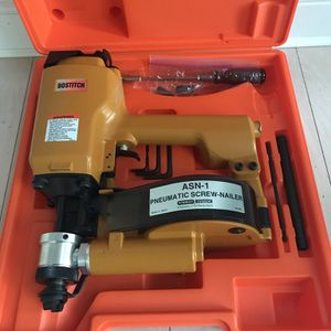 Bostitch ASN-1 Coil-Fed Pneumatic Screw-Nailer For Light Gauge Metal Brand NEW for Sale in Blackstone, MA