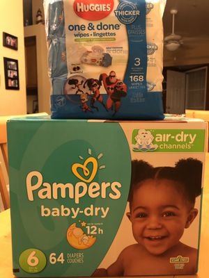 Diaper and wipes bundle for Sale in Riverside, CA