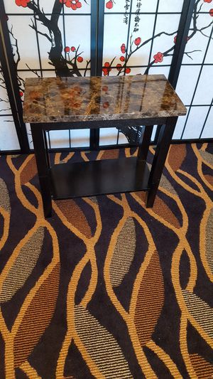 Faux Marble Console Table for Sale in Silver Spring, MD